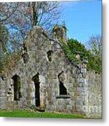 Adare Chapel Ruins Metal Print
