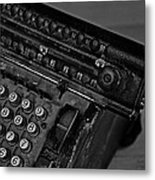 Adding Machine Two Metal Print