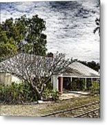 Adelaide River Railway Station Metal Print