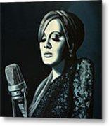 Adele 2 Metal Print