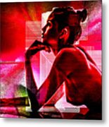 Adeline Topless 18 Metal Print