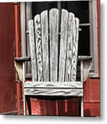 Adirondack Chair Metal Print