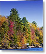 Adirondack Color Ix Metal Print