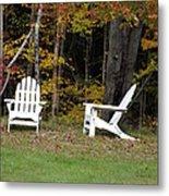 Adirondack Foliage Metal Print