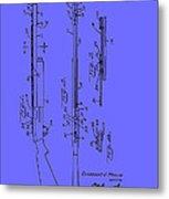 Adjustable Shotgun Choke Control Patent Metal Print