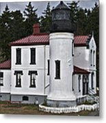Admiralty Head Lighthouse 2 Metal Print