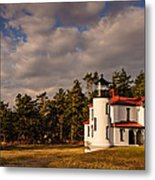 Admiralty Head Lighthouse Metal Print