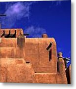 Adobe Architecture Metal Print