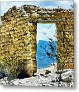Adobe Metal Print by Lester Phipps