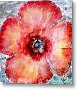 Adobe Poppy Metal Print