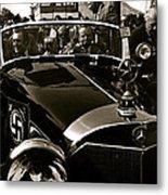 Adolf Hitler's 1941 Mercedes-benz 770-k Touring Car Sold At Auction Scottsdale Arizona 1973 Metal Print