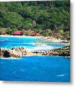 Adrenaline Beach - Cezanne II Metal Print