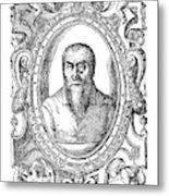 Adrian Willaert (1480-1562) Metal Print
