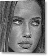 Adriana Lima 2 Metal Print