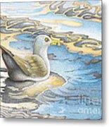 Adrift Metal Print by Wayne Hardee