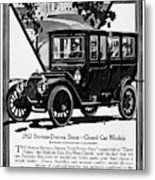 Ads Automobile, 1912 Metal Print