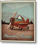 Adventure Air Metal Print by Cindy Thornton