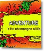 Adventure Metal Print by Mike Flynn