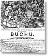 Advertisement: Buchu, 1871 Metal Print