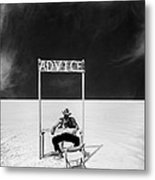 Advice Metal Print