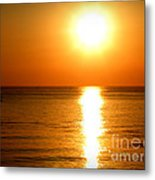 Aegean Sunset Metal Print