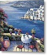 Aegean Vista Metal Print by John Zaccheo