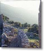 Aegothena Fortification Metal Print