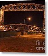 Aerial Lift Bridge Metal Print