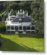 Aerial Of Jefferson Mansion Metal Print