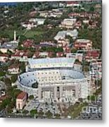 Aerial Of Tiger Stadium Metal Print