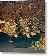 Aerial Photography - Coast Metal Print