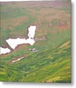 Aerial View Of Alaskan Landscape Metal Print