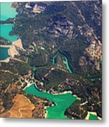 Aerial View Of Andalusia. Spain Metal Print