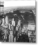 Aerial View Of Central Park Metal Print