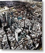 Aerial View Of London 3 Metal Print