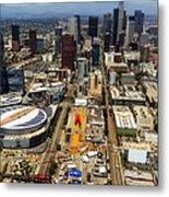 Aerial View Of Los Angeles Metal Print