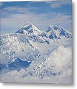 Aerial View Of Mount Everest, Nepal, 2007 Metal Print