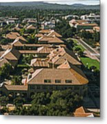 Aerial View Of Stanford University Metal Print