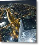 Aerial View Of Tel Aviv Metal Print