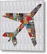 Aeroplane Jet Fly Showcasing Navinjoshi Gallery Art Icons Buy Faa Products Or Download For Self Prin Metal Print by Navin Joshi
