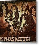 Aerosmith - Back In The Saddle Metal Print