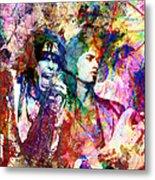Aerosmith Original Painting Metal Print