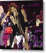 Aerosmith - Steven Tyler - Dsc00072 Metal Print