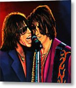 Aerosmith Toxic Twins Painting Metal Print