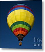 Aerostatic Balloon Metal Print