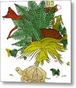 Aesop: Tortoise & The Hare Metal Print