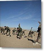 Afghan National Army Commandos Metal Print