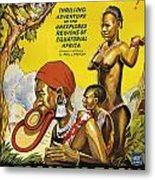 Africa Speaks Metal Print