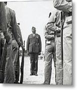 African American Marine Boot Recruits Metal Print