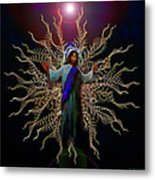African Ascension Metal Print by Michael Durst